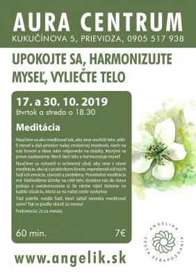 Meditácia 17.10. a 30.10.
