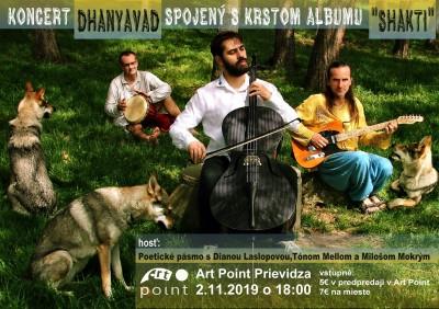 Koncert Dhanyavad a krst albumu Shakti