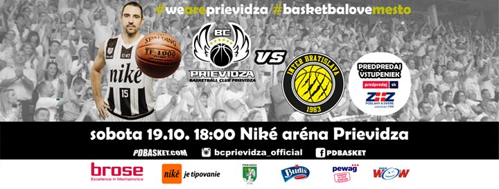 BC Prievidza - Inter Bratislava (4. kolo SBL)