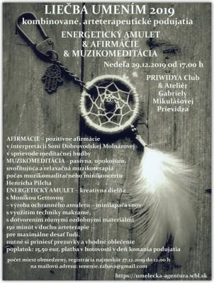 TVORBA ENERGETICKÉHO AMULETU & AFIRMÁCIE & MUZIKOMEDITÁCIA