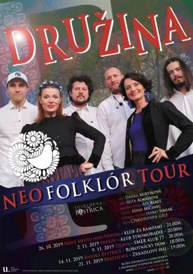 Video: Skupina DRUŽINA vyráža na klubové turné.