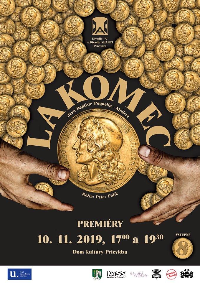 """Premiéra - Lakomec - Divadlo """"A"""" a Divadlo SHANTI"""