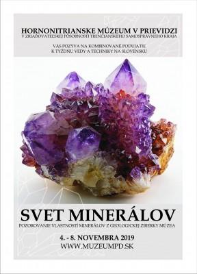 Pokrok v múzeu: Svet minerálov
