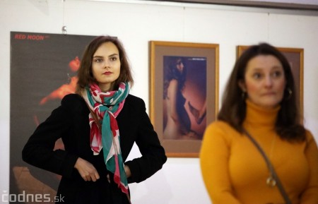Foto: Vernisáž výstavy Dotyk hriechu - Milan Gross 4
