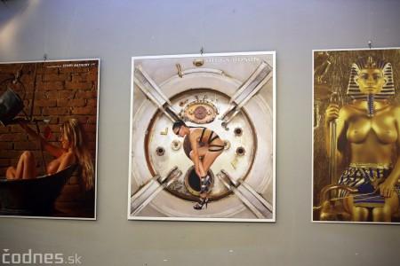 Foto: Vernisáž výstavy Dotyk hriechu - Milan Gross 6