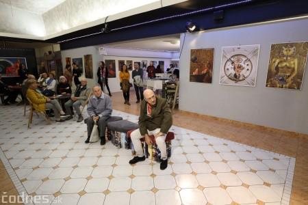 Foto: Vernisáž výstavy Dotyk hriechu - Milan Gross 15