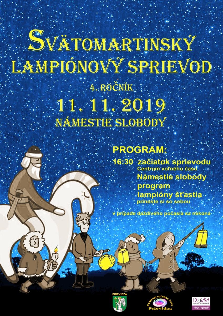 Svätomartinský lampiónový sprievod 2019