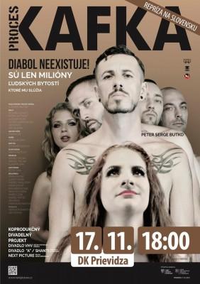 Unikátne divadelné predstavenie: KAFKA – PROCES
