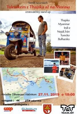 Tuktukom z Thajska až na Moravu