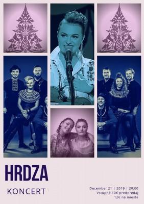 Koncert Hrdza - Nováky