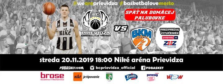 BC Prievidza - BKM Lučenec (11. kolo SBL)