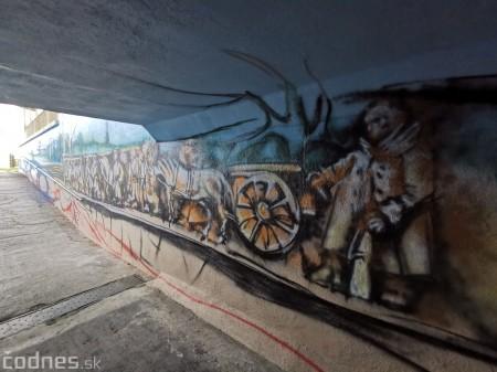 Foto a video: Skrášľovanie podchodu Žabník-Necpaly je hotové 3