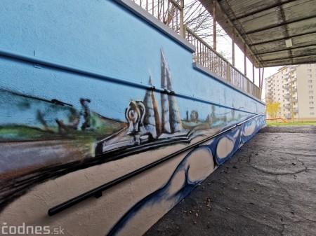 Foto a video: Skrášľovanie podchodu Žabník-Necpaly je hotové 4