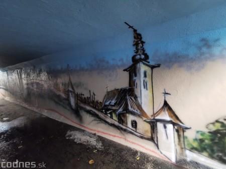 Foto a video: Skrášľovanie podchodu Žabník-Necpaly je hotové 5