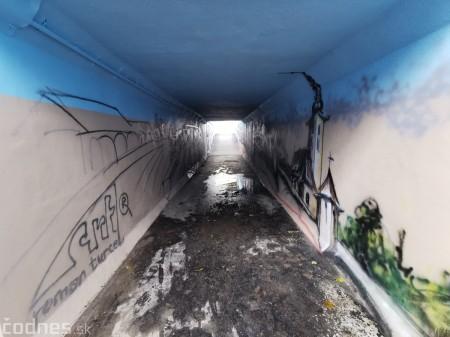 Foto a video: Skrášľovanie podchodu Žabník-Necpaly je hotové 6