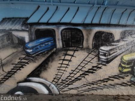 Foto a video: Skrášľovanie podchodu Žabník-Necpaly je hotové 8