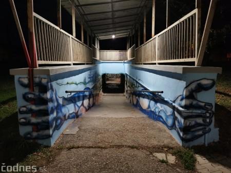 Foto a video: Skrášľovanie podchodu Žabník-Necpaly je hotové 10