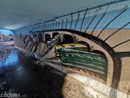 Foto a video: Skrášľovanie podchodu Žabník-Necpaly je hotové 18