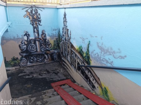 Foto a video: Skrášľovanie podchodu Žabník-Necpaly je hotové 21
