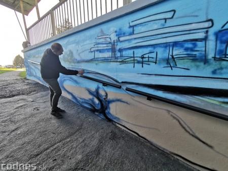 Foto a video: Skrášľovanie podchodu Žabník-Necpaly je hotové 26