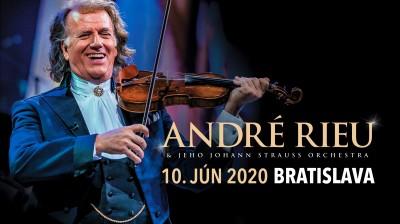 André Rieu mieri na Slovensko! Po boku Johann Strauss Orchestra ponúkne publiku žánrovú všehochuť
