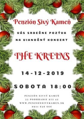 Koncert The Kreins v Penzióne Sivý Kameň