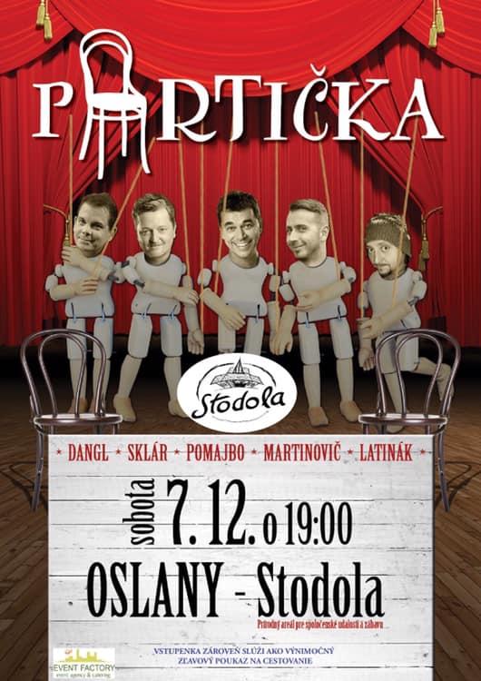 Partička - Stodola - prírodný areál Lubianka - Oslany
