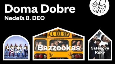 Video: Doma Dobre 2019 s kapelami Bazzookas, Saténové Ruky a Lomnické Čháve