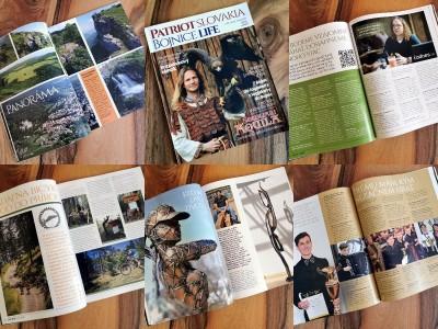Vyšlo prvé vydanie nového regionálneho magazínu Patriot Slovakia - Bojnice life