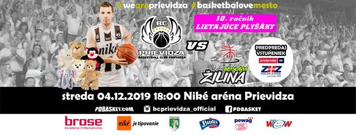BC Prievidza - BK Slávia Žilina (Lietajúce plyšáky 10. ročník)