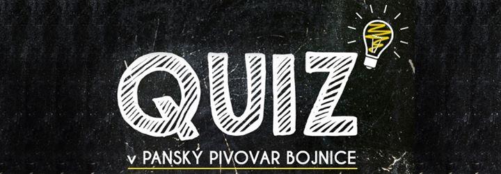 Quiz Time - Pánsky pivovar
