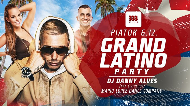 ★ Grand Latino Party ★ 6.12.