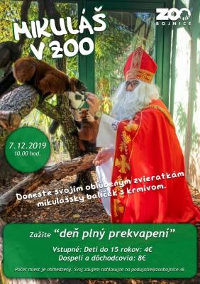 Mikuláš v Zoo Bojnice