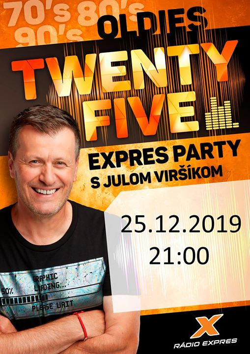EXPRES PARTY S JULOM VIRŠÍKOM