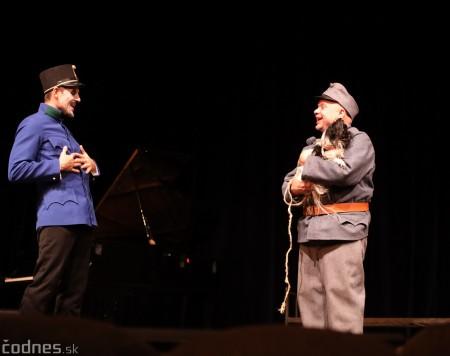 Foto: Josef Švejk - Divadlo Aréna - Frenkieho Vianoce v divadle 2019 - divadelný festival Myjava 68