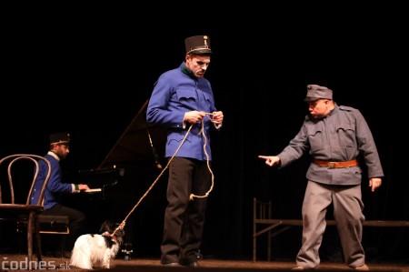 Foto: Josef Švejk - Divadlo Aréna - Frenkieho Vianoce v divadle 2019 - divadelný festival Myjava 70