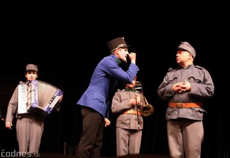 Foto: Josef Švejk - Divadlo Aréna - Frenkieho Vianoce v divadle 2019 - divadelný festival Myjava 72