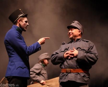 Foto: Josef Švejk - Divadlo Aréna - Frenkieho Vianoce v divadle 2019 - divadelný festival Myjava 73
