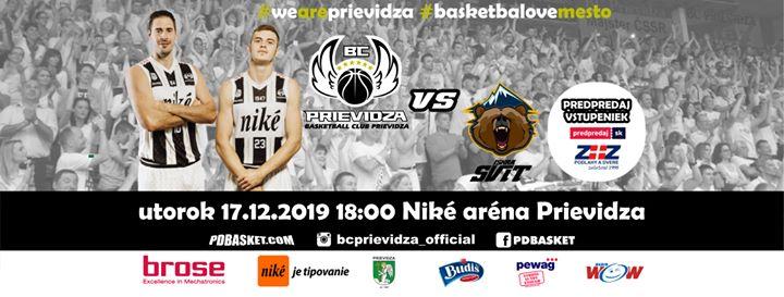 BC Prievidza - Iskra Svit (18. kolo SBL)