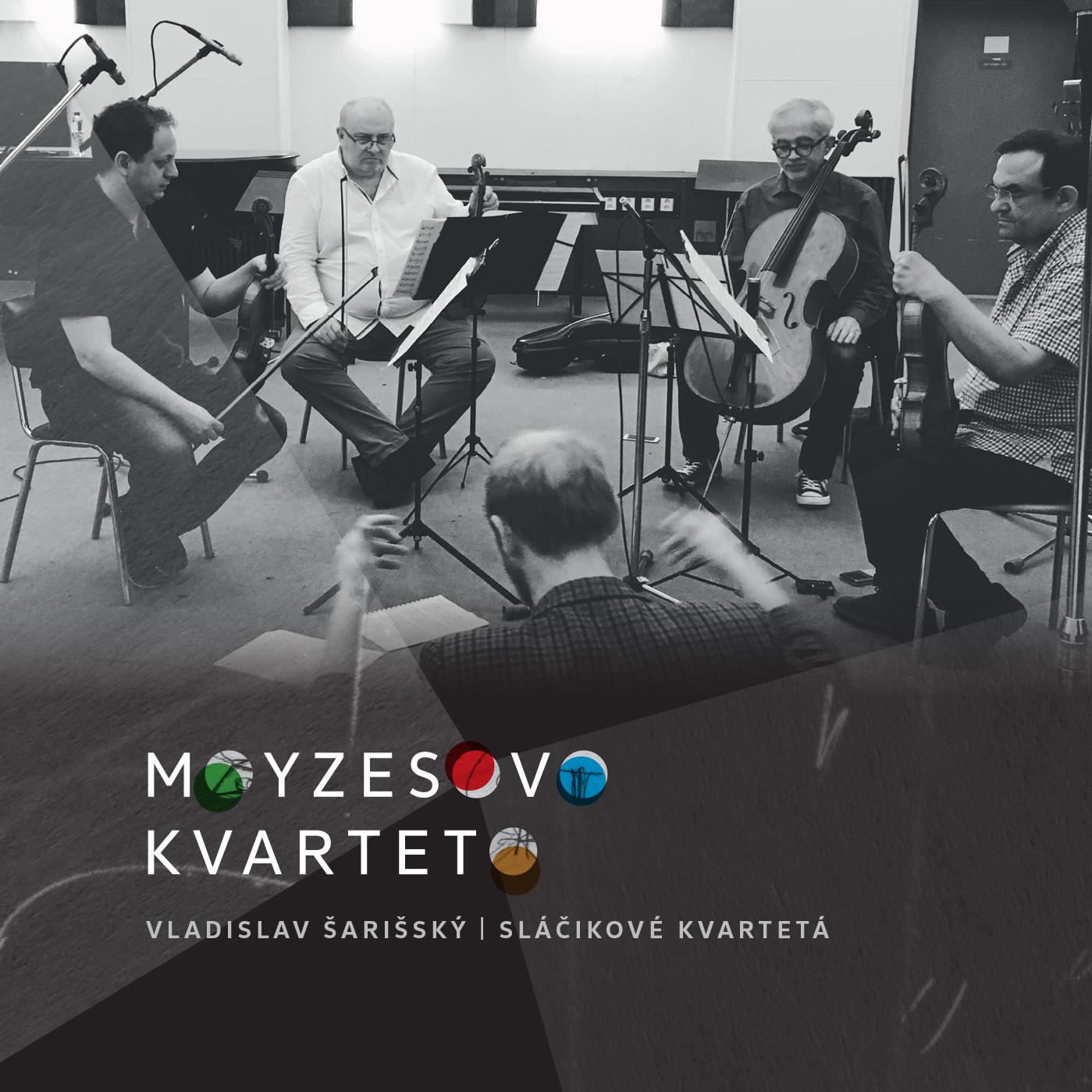 Moyzesovo kvarteto vydáva novinku s hudbou Vladislava Šarišského