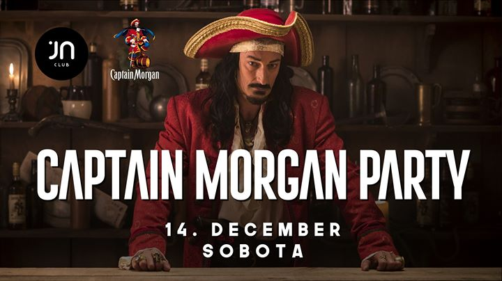 Captain Morgan party / Jantar club
