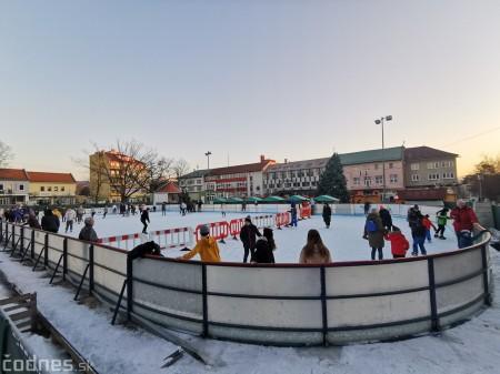 Ľadová plocha na námestí v Prievidzi - prevádzkové hodiny 0