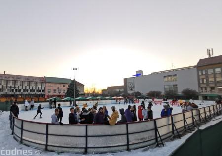 Ľadová plocha na námestí v Prievidzi - prevádzkové hodiny 2