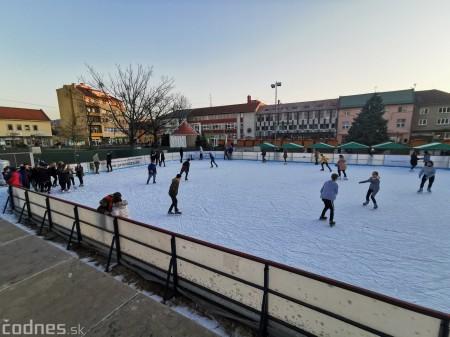 Ľadová plocha na námestí v Prievidzi - prevádzkové hodiny 1