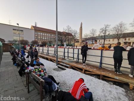 Ľadová plocha na námestí v Prievidzi - prevádzkové hodiny 3