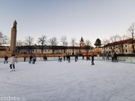 Ľadová plocha na námestí v Prievidzi - prevádzkové hodiny 4