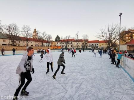Ľadová plocha na námestí v Prievidzi - prevádzkové hodiny 5