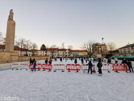 Ľadová plocha na námestí v Prievidzi - prevádzkové hodiny 6