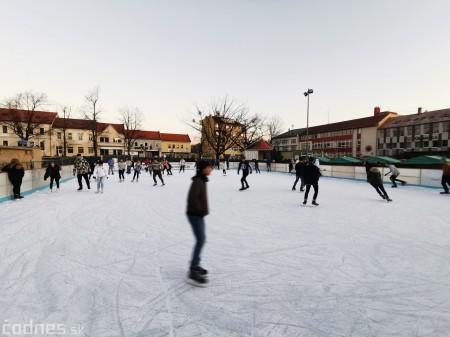 Ľadová plocha na námestí v Prievidzi - prevádzkové hodiny 7