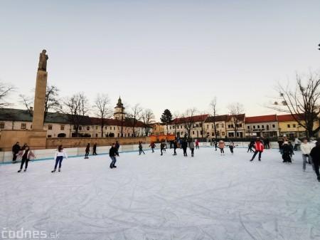 Ľadová plocha na námestí v Prievidzi - prevádzkové hodiny 8